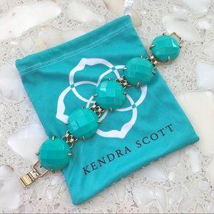 Kendra Scott Teal Cassie Bracelet